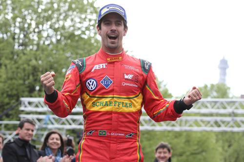 Lucas di Grassi triumphs at Formula E debut in Paris