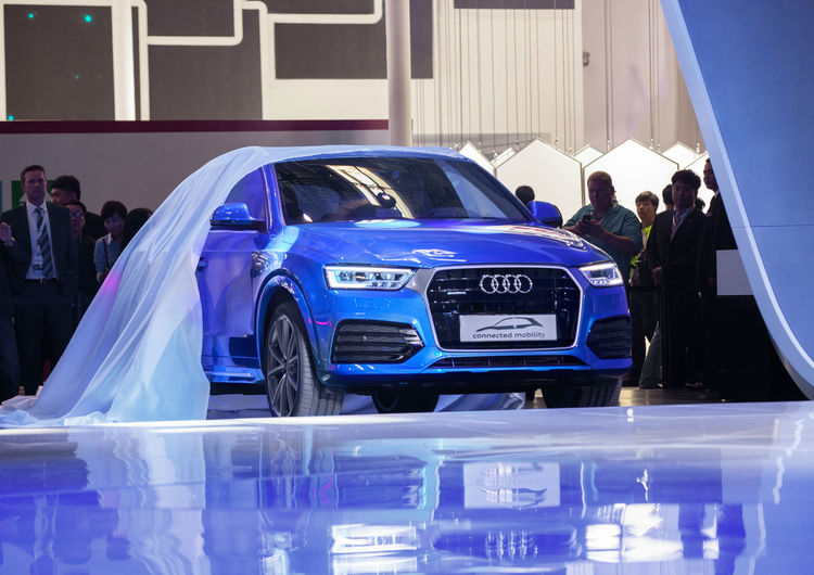 Audi at the Auto China 2016 in Beijing