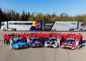 Audi Sport Team Abt Sportsline Roll-out