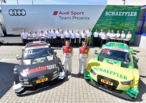 Presentation Audi Sport Team Phoenix 2016