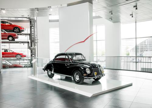 """Dynamic Sculptures"" – DKW F 91 Zweisitzer Coupé"