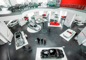 """Dynamic Sculpture – the Tradition of Sportiness and Elegance at Audi."""