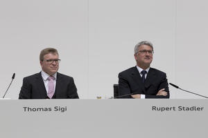 Annual Press Conference 2014 of the AUDI AG