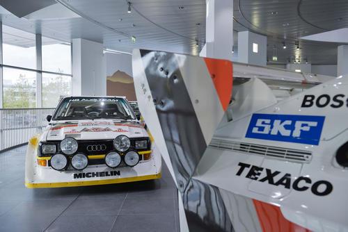 30 Jahre Sport quattro:  Sonderausstellung im Audi museum mobile