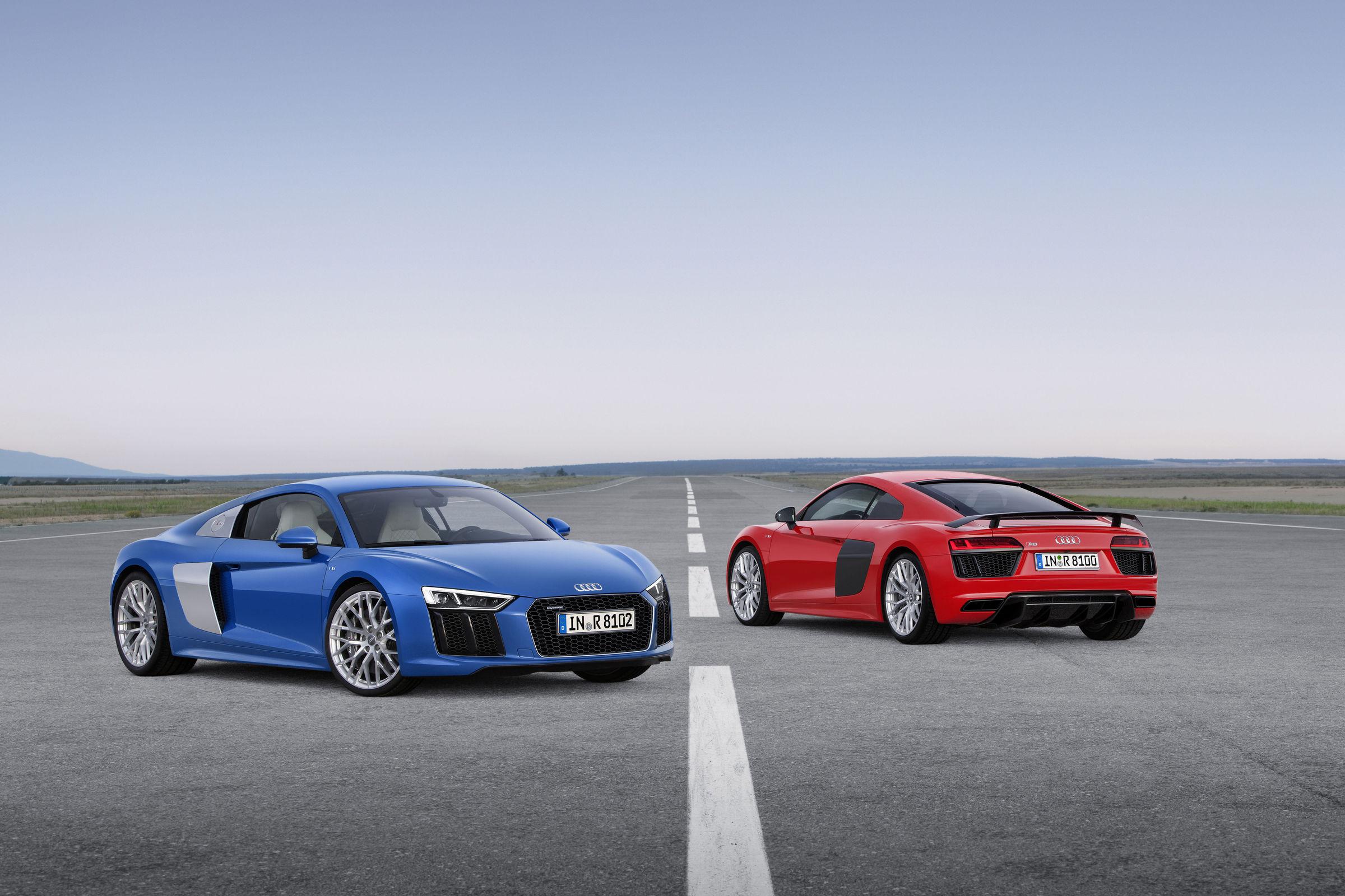 Audi R8 V10, Audi R8 V10 plus