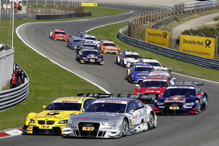 Audi leads DTM's manufacturers' and team standings