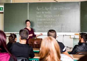 Audi Neckarsulm ermöglicht Sprachkurse  für junge Flüchtlinge