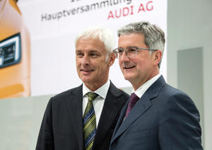 127th Annual General Meeting of AUDI AG in Ingolstadt