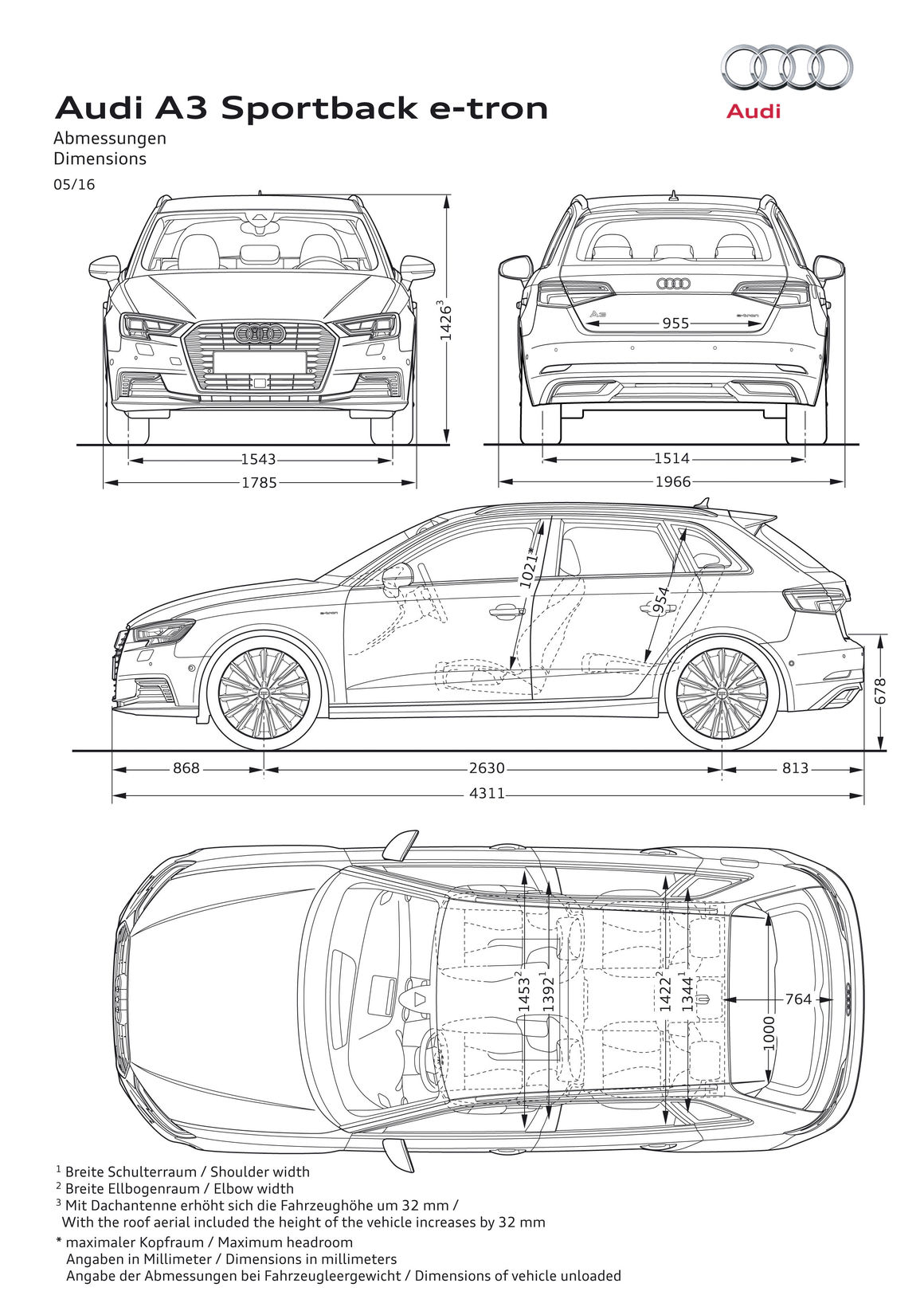 Audi A3 Sportback E Tron Audi Mediacenter