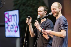 Junges Kulturformat: Slam Poetry im  Audi Forum Neckarsulm