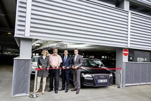 AUDI AG: 1.150 neue Parkplätze für Mitarbeiter