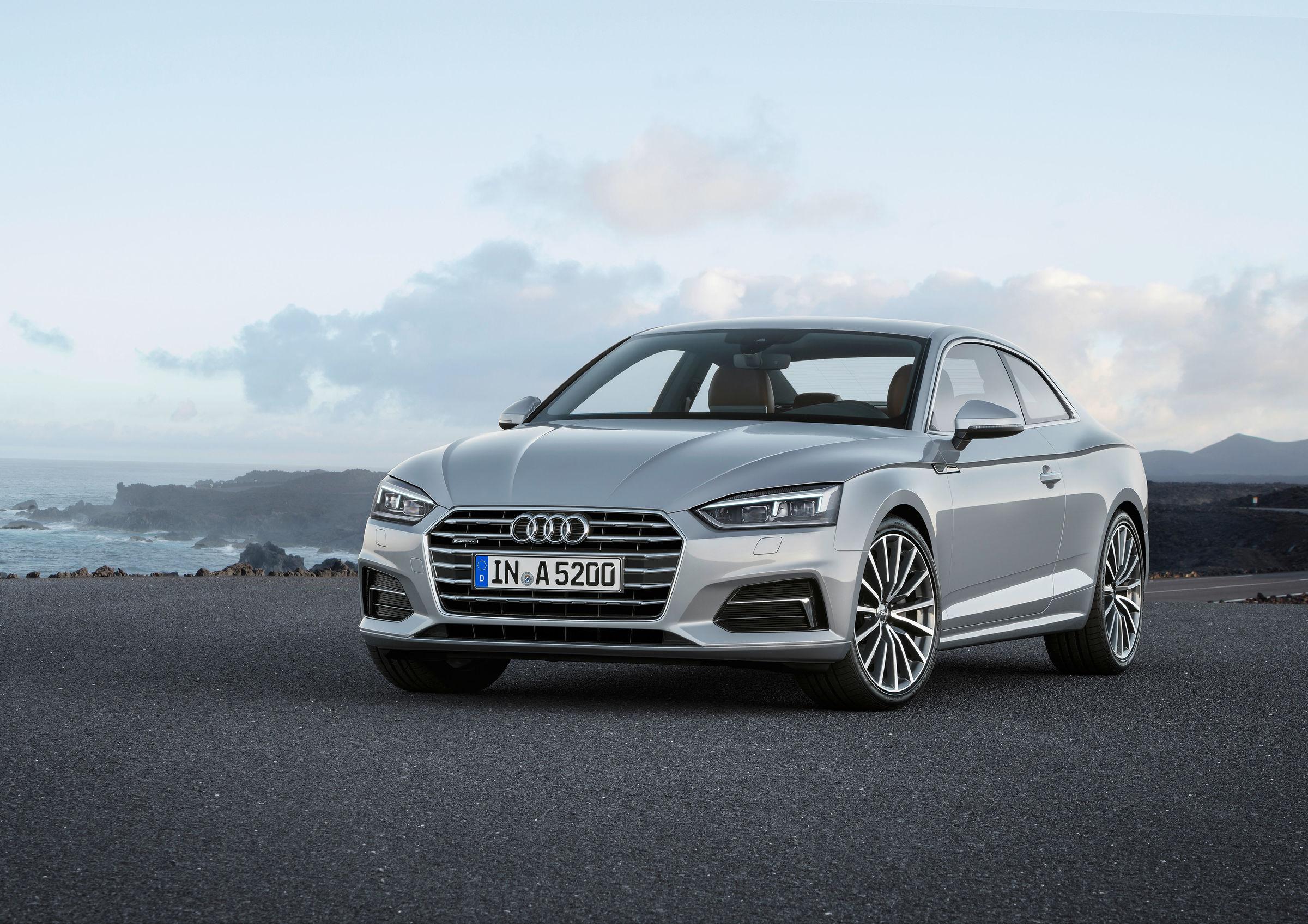 World Premiere Of The New Audi A Coupé Audi MediaCenter - Audi a5 coupe