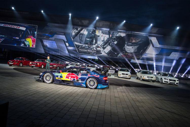 World premiere Audi A5/S5 Coupé, Ingolstadt