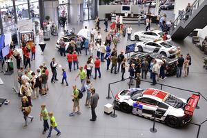 """Impressionen vom Audi Erlebnistag """"Sportliche Einblicke"""" am 12. Juli im Audi Forum Neckarsulm"""