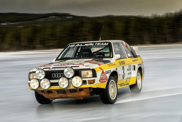 Stig Blomqvist, Audi Rallye-Weltmeister von 1984 im Sport quattro Rallye