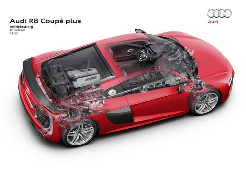 Audi R8 Coupé plus