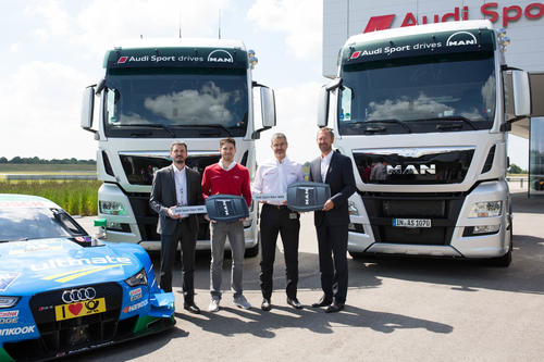 Audi relies on new trucks from MAN