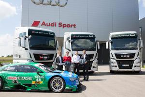 Audi setzt auf neue Trucks von MAN