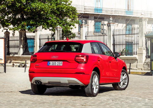 Audi Q2 1.4 TFSI in Havanna