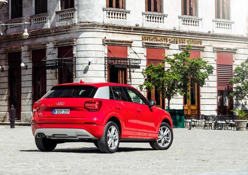 Audi Q2 1.4 TFSI in Havanna