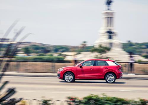Audi Q2 1.4 TFSI auf Kuba