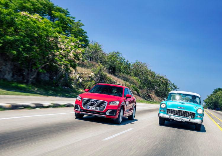 Audi Q2 1.4 TFSI on Cuba
