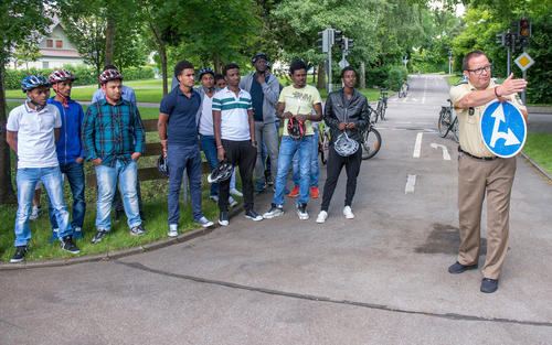 Audi-Flüchtlingshilfe