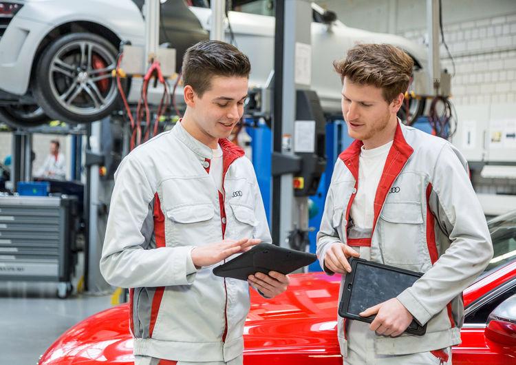 Berufsinformationstage bei Audi Neckarsulm