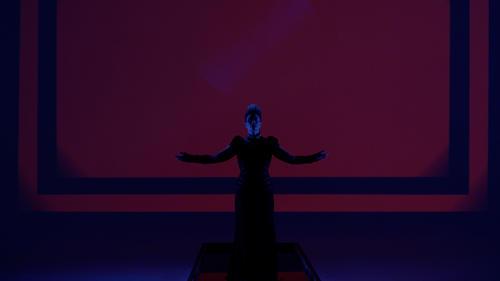 "Peaches als ""Kundry"" im Audi Zeitgeist Projekt ""Black Mountain"""