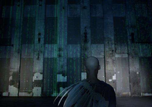 "Tómas Lemarquis als ""Parsifal"" im Audi Zeitgeist Projekt ""Black Mountain"""