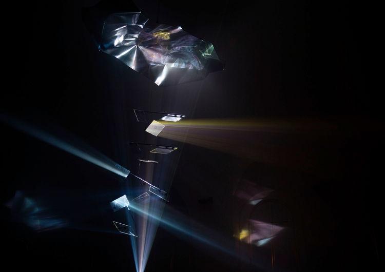 "Audi Zeitgeist Project ""Black Mountain"" in an installation by Hauke Odendahl. Credit © Marvin Jockschat"