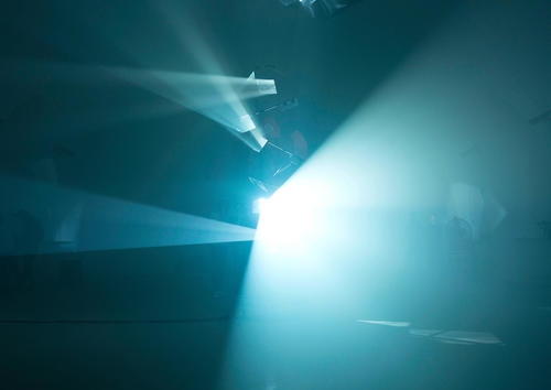 """Audi Zeitgeist Projekt """"Black Mountain"""": Lichtinstallation von Hauke Odendahl. Credit © Marvin Jockschat"""