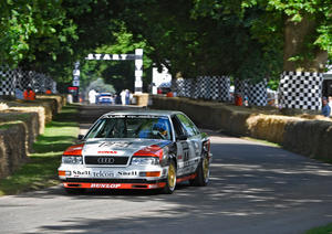 """Audi Tradition feiert zwei Jubiläen in Goodwood"""