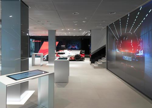 Audi City Moskau
