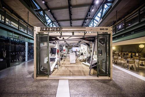 """Audi mit Pop-up-Store im """"Bikini Berlin"""""""