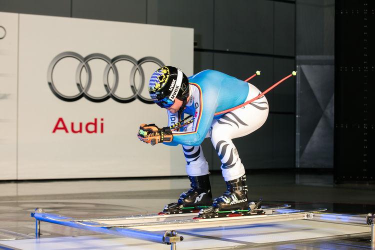DSV test in Audi wind tunnel