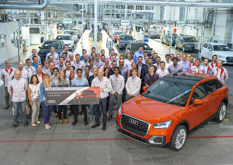 A small car makes a big impression:  the new Audi Q2