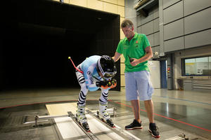 DSV test in Audi wind tunnel