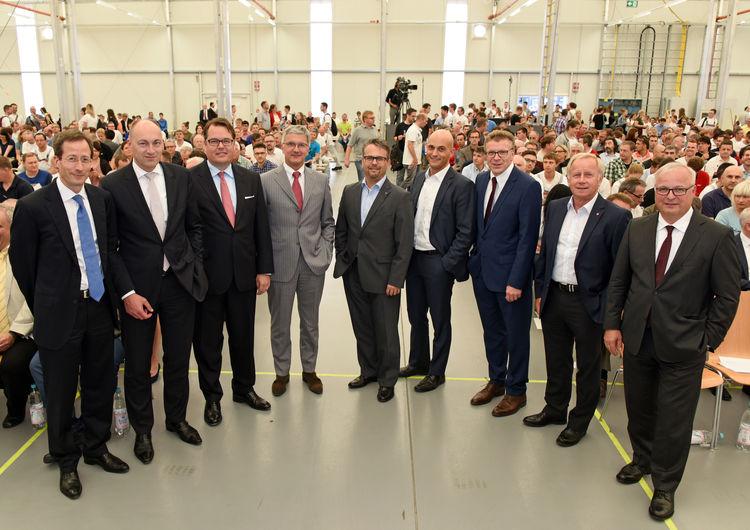Audi stößt das Tor zur Arbeitswelt von morgen auf