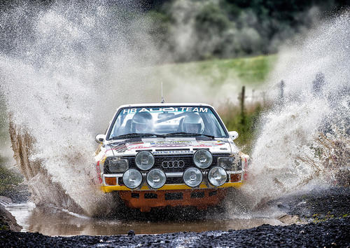 "Audi Tradition beim ""Rallye-Mekka"" in Daun"