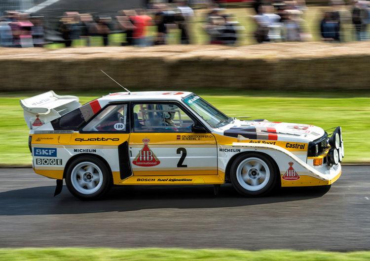 "Audi Tradition beim ""Rallye-Mekka"" in Daun"