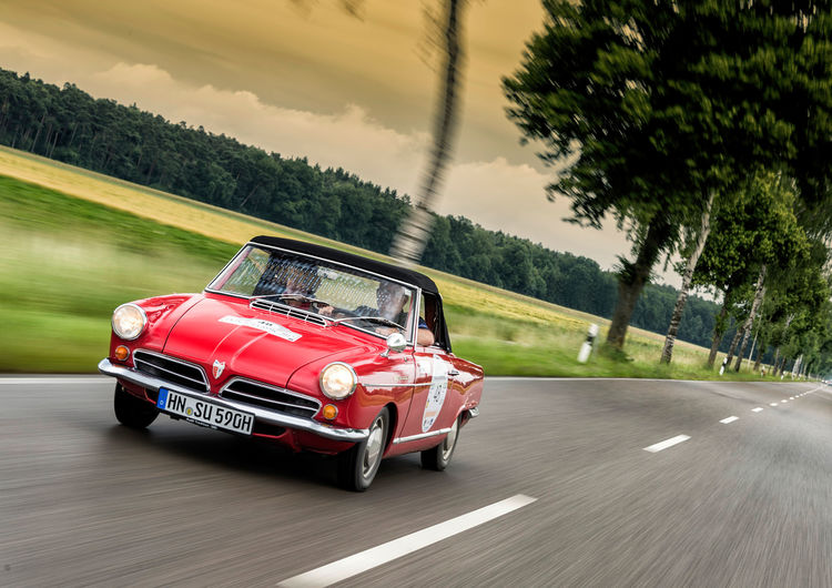 Audi-Klassiker bei der Heidelberg Historic