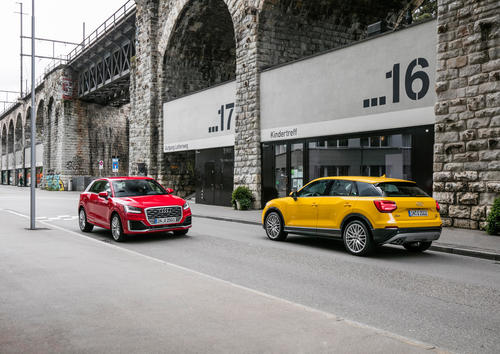 Audi Q2 wins in Automotive Brand Contest