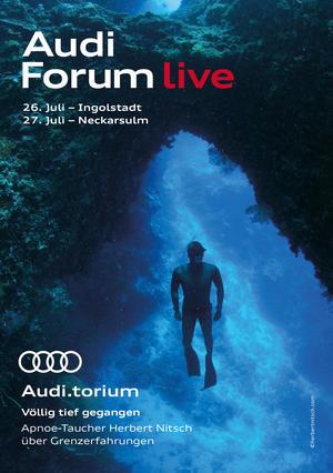 "Audi.torium ""Völlig tief gegangen"""