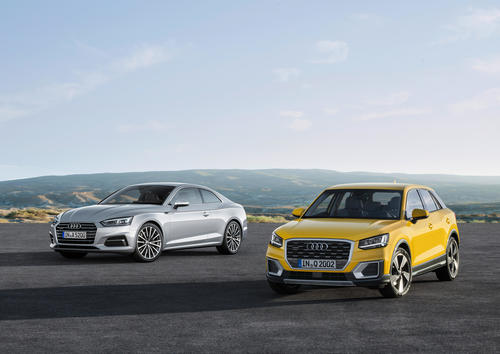 Audi continues product offensive: Orders now being accepted for Q2, A5 and S5 Coupé