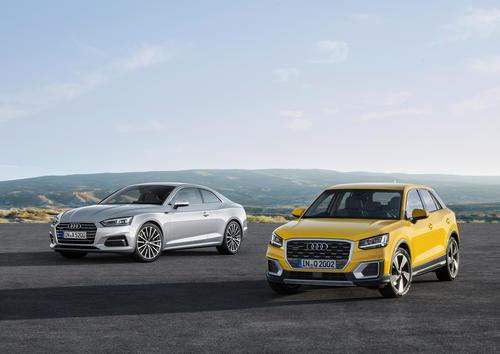 Audi setzt Produkt-Offensive fort:  Q2, A5 und S5 Coupé ab sofort bestellbar