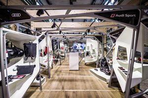 "Audi mit Pop-up-Store im ""Bikini Berlin"""