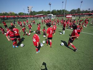 Audi Schanzer Soccer Camp Peking 2016