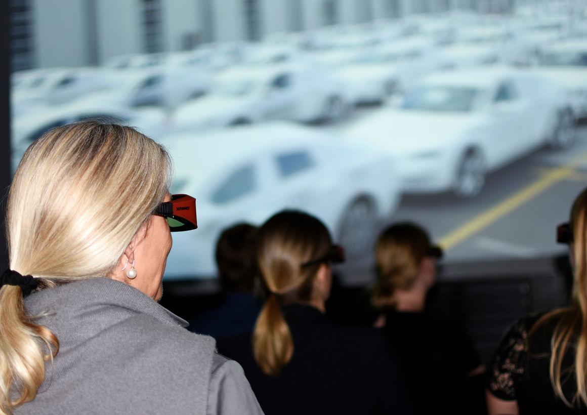 Automobil-Produktion in 3D: neuer Film im Audi Forum Neckarsulm
