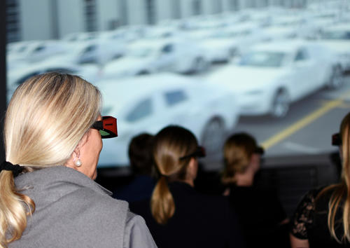 Automobil-Produktion in 3D: neuer Film im Audi Forum Neckarsulm